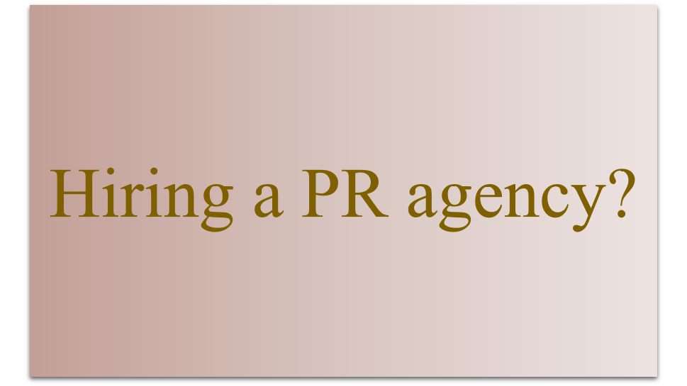 Hiring a PR agency? Here are tips for preparing a brief