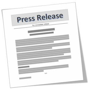 PR for Startups:  Press Release