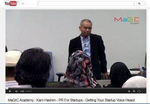 PR for startups (video)