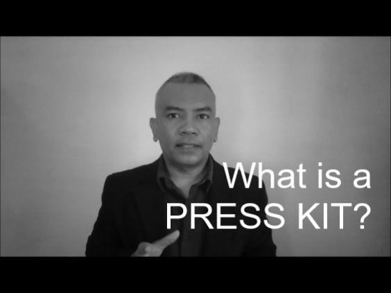 What is a press kit?