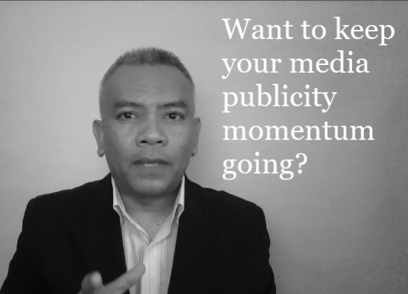 Want to keep the media publicity momentum going? Here's an idea.