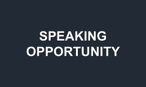 CES Asia Call for Speakers Now Open